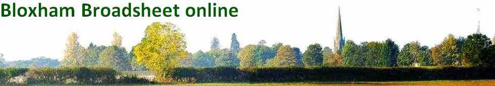 Bloxham Broadsheet online