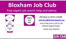 Bloxham Job Club – Jan 2016