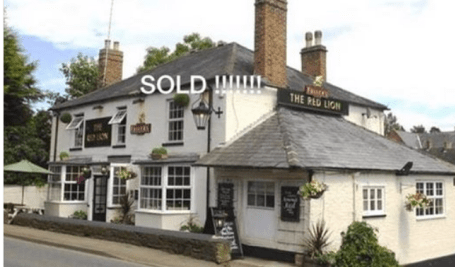 Red Lion Sold?