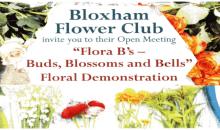 Flower Club – 19th May 2016