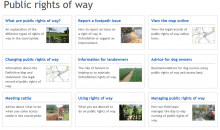 Advice on using Rights of Way – May 2016