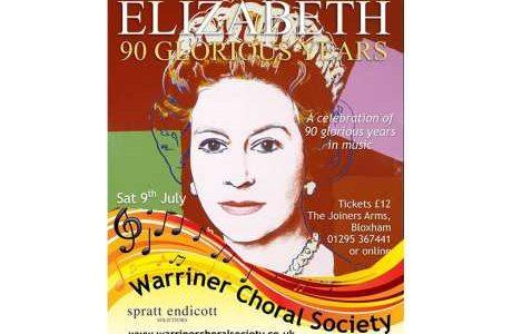 Warriner Choral Soc – 90 Years – 9th July 2016