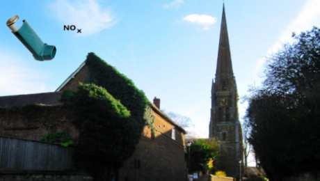 Bloxham air pollution levels – Aug 2016