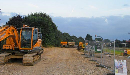 Work begins on next new Estate – Sept 2016