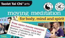 Free trial Tai Chi session – 4th Oct 2016