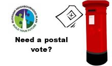 Last day to register for a postal vote – 19th Oct 2016