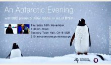 BYHP Antarctic Fundraiser  – 10th Nov 2016