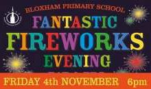 Fantastic Fireworks – Fri 4th Nov 2016