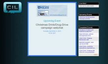 Drink (& Drugs) Drive Webchat – 6th Dec 2016