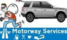 Motorway Service Area Alert