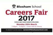 Bloxham School Careers Fair – 20th Mar 2017