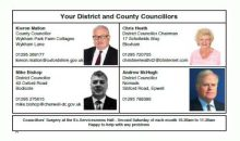 Your Councillors – Feb 2017