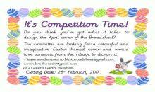 Design a cover competition – 28th Feb 2017