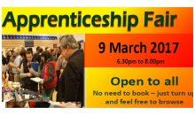 Apprenticeship Fair – 9th March 2017