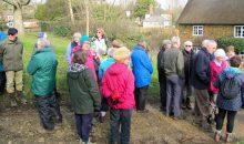 Bloxham Health Walk in Wroxton – 8th March 2017