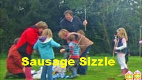 Egg hunt &sausage-sizzle – 15th Apr 2017