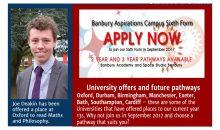Banbury Academy Newsletter – April 2017
