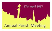 Annual Parish Meeting – 27th April 2017