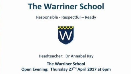 Warriner Open Eve – 27th April 2017