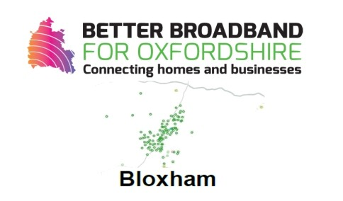 BloxhamSuperfast broadband coverage – Aug 2017