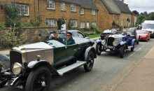 Classic Cars through Bloxham – 4th Aug 2017