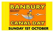 Canal Day IS happening – 1st Oct 2017