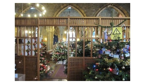 Christmas Tree Festival -1st to 3rd Dec 2017