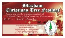 Christmas Tree Festival – 1st – 3rd Dec 2017
