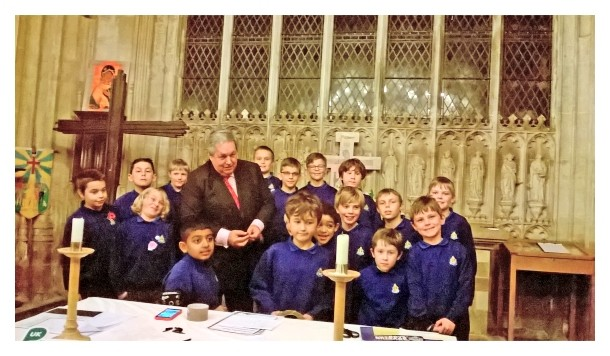 Boys' Brigade & Parliament Week – Nov 2017