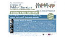 Festival of Faith & Literature – 16 to 18th Feb 2018