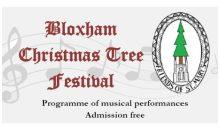 Christmas Tree Festival Music – 1 to 3rd Dec 2017