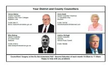 Your Councillors – Dec 2017