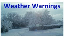 Weather Warning – 11th Dec 2017