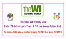W.I. Quiz Night – 24th Feb 2018