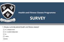 Resident survey – Sports Programme – April 2018