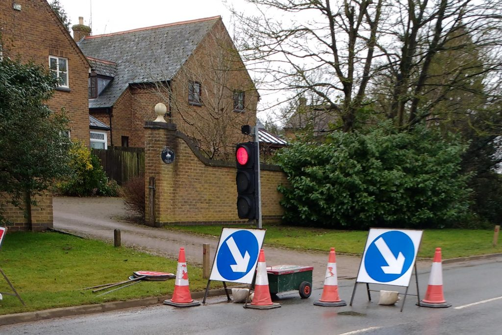 Warning – Traffic Lights Failure – 12-Mar 2018