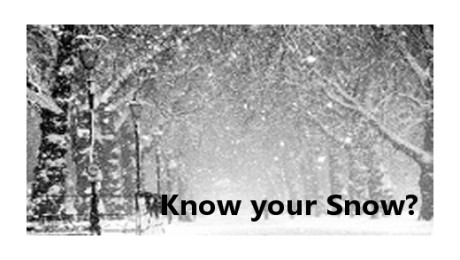 Know your Snow Facts – Feb 2018