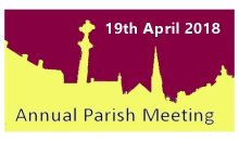 Annual Parish Meeting – 19th April 2018
