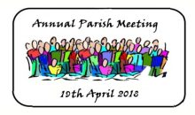 P.C. Annual Meeting Agenda – 19th Apr 2018