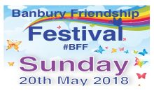 Banbury Friendship Festival – 20th May 2018