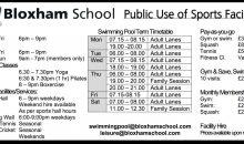 Bloxham School Sports Facilities – June2018