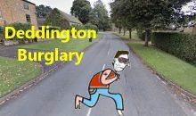 Deddington Burglary Witness Appeal – 17th May 2018