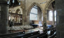 Bloxham Church explains pew removal – June 2018