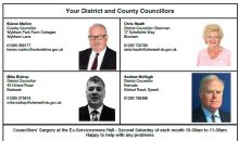 District & County Councillors – July 2018