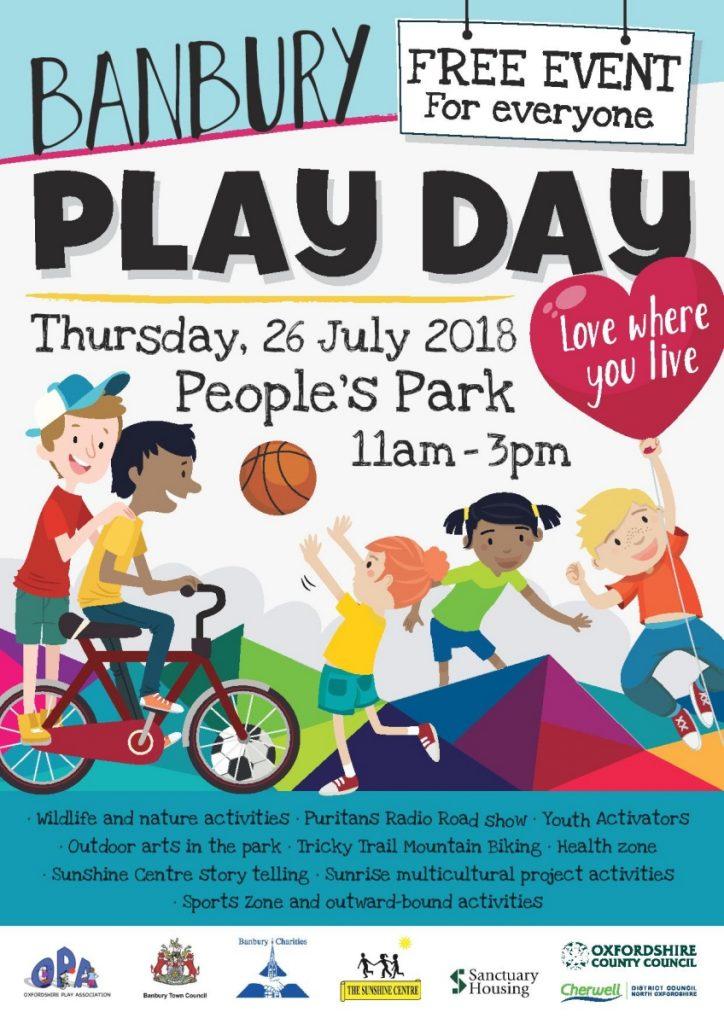 Banbury Play Day – 26th July 2018