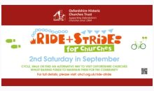 Ride & Stride Event – 8th Sept 2018