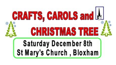 Crafts, Carols etc – 8th Dec 2018