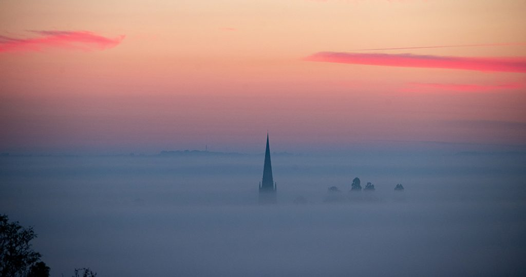 Steeple in the mist – Oct 2018
