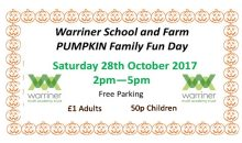 Pumpkin Fun Afternoon – 28th Oct 2018