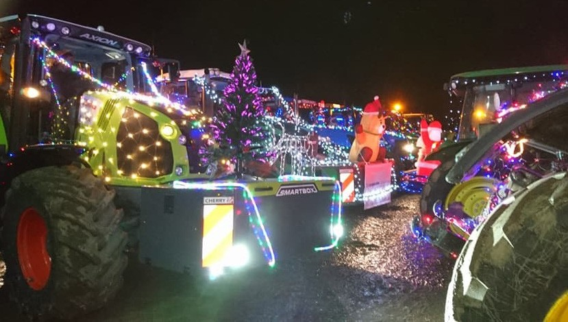 Xmas Tractor Convoy – 19th Dec 2018